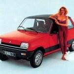 Renault 5 1972. -1996. – Istorija modela