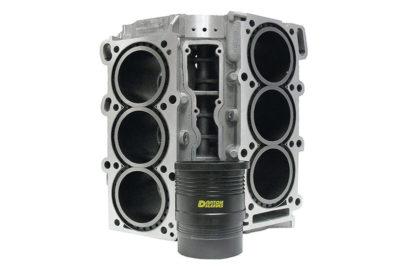 Tzv. 'mokre' košuljice cilindara osiguravaju bolje hlađenje (Darton International)Tzv. 'mokre' košuljice cilindara osiguravaju bolje hlađenje (Darton International)