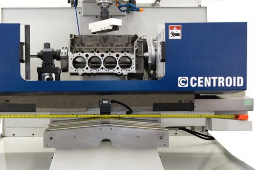 CNC glodalica prilagođena za izradu bloka motora (Centroid Corporation)CNC glodalica prilagođena za izradu bloka motora (Centroid Corporation)