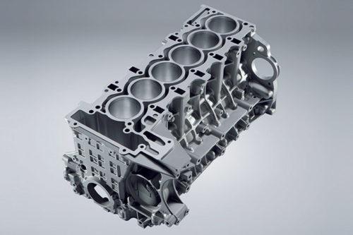 Aluminijumski blok 6-cilindričnog rednog motora (BMW AG)