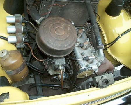 Trocilindrični motor je imao tri bobine