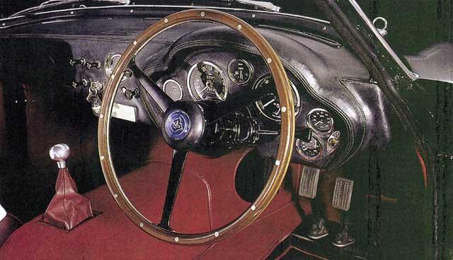 Aston Martin DB4 GT Zagato - unutrašnjost