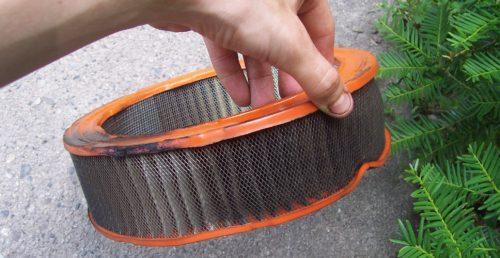 Mali servis - zamena filtera vazduha