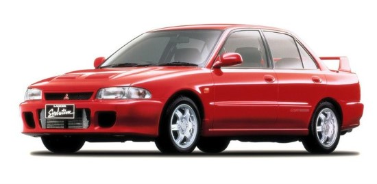 Mitsubishi Lancer Evolution I (CD9A)