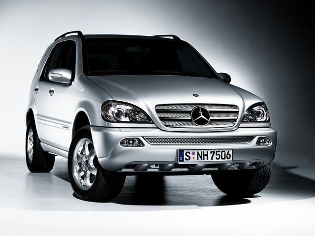 Mercedes M W163 Servis