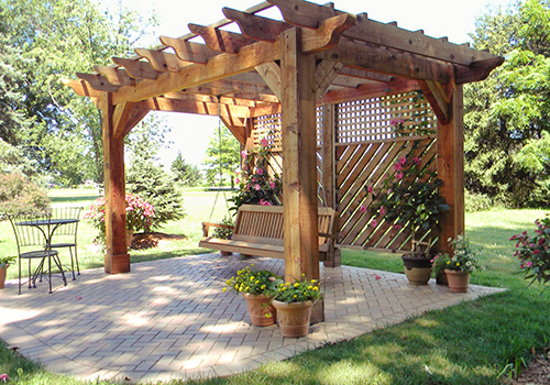 design your own pergola