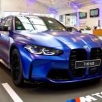 2021 Bmw M3 In Frozen Marina Bay Blue Hype Garage