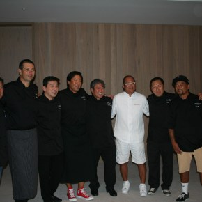 Celebrity Chefs Morimoto and Tsai Sizzle at Hawaiian Food festival
