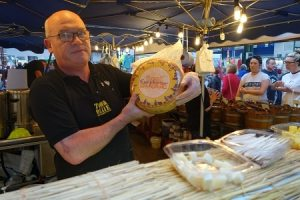Hugh shows off sheep's milk Irish cheese