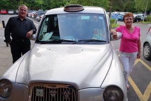 Joe and Joan and their taxi