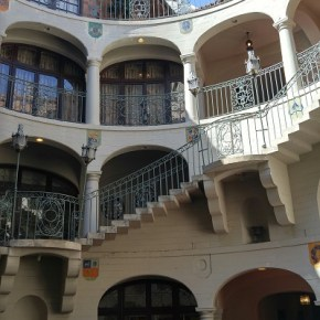 The Mission Inn in Riverside, layered with unusual architecture