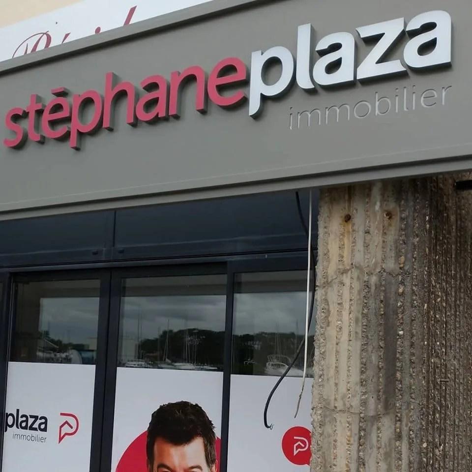 enseigne stephane plaza capbreton
