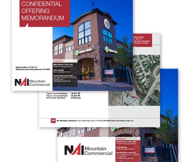 Commercial Real Estate Offering Memorandums