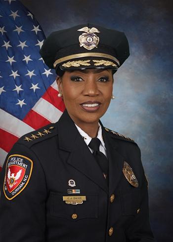 "Portrait of Durham, North Carolina Police Chief Cerelyn ""C.J."" Davis"