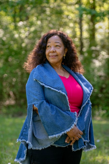 Portrait of Lorrain Taylor whose sons were killed by gun violence
