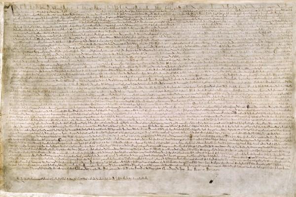 Magna Carta British Library Cotton MS Augustus II 106