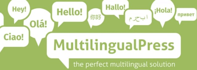The MultilingualPress plugin.