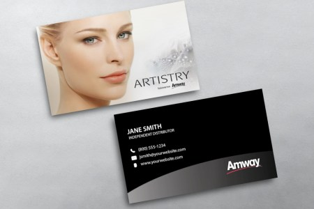 Amway Business Cards   Free Shipping Amway Business Card 06