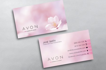Avon Business Cards   Free Shipping Avon Business Card 11