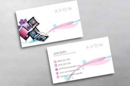 Avon Business Cards   Free Shipping Avon Business Card 13