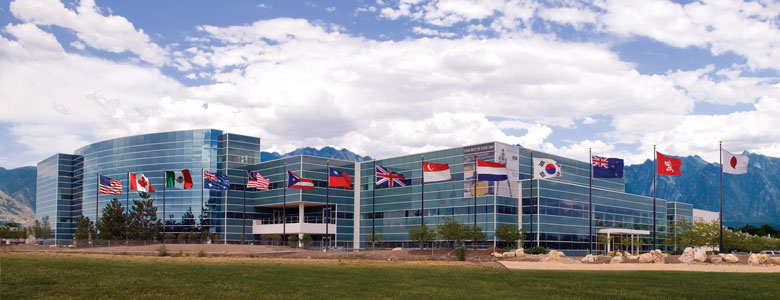 USANA World Headquarters in Salt Lake City, Utah - USA