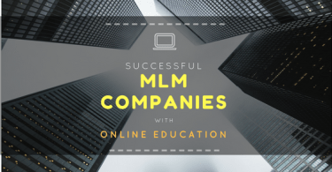 Successful MLM Companies with Online Education