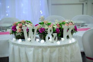 litery love na wesele