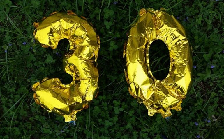 trzydzieste urodziny