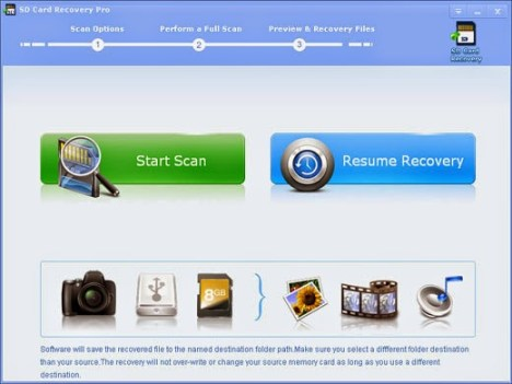 تحميل برنامج SD Card Recovery Pro
