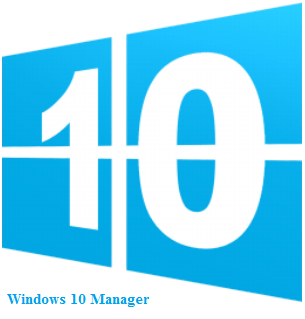 Windows 10 Manager