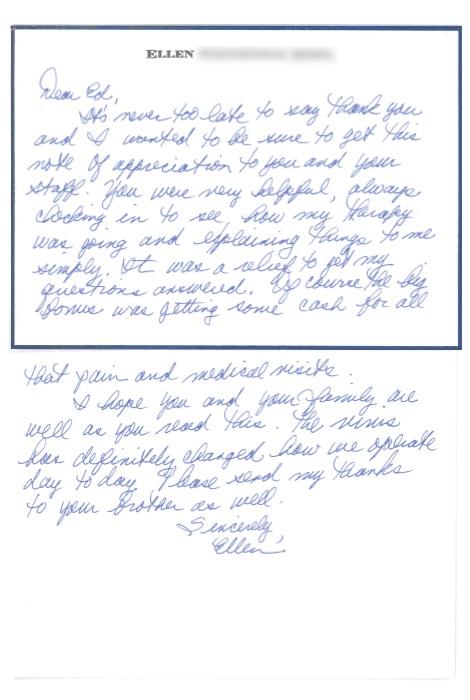 Ellen W Testimonial