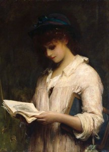 Fildes_Woman_reading