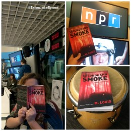 Hanging out at the NPR headquarters in Washington, DC