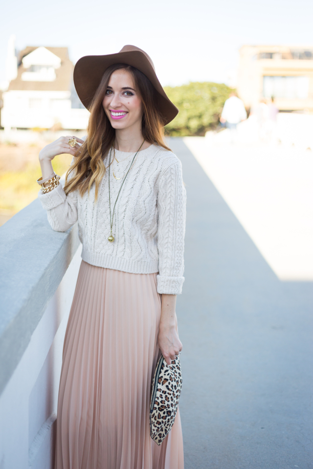 early fall outfit via M Loves M @marmar (click through for more photos and product information)
