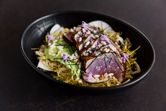 Spicy Tuna Salad from Plan Check Downtown Los Angeles via M Loves M @marmar