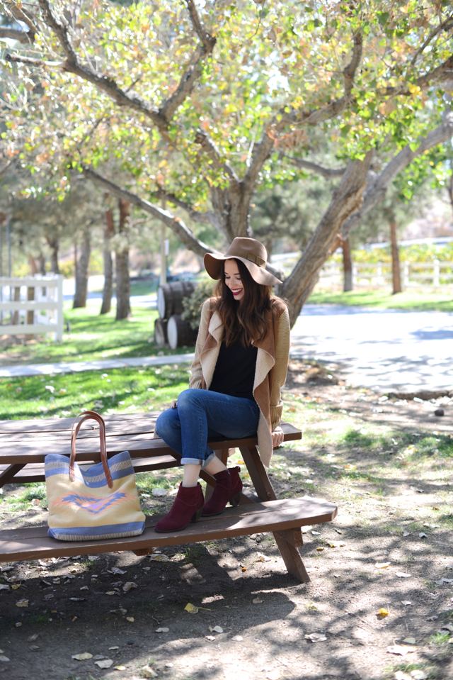 wine tasting outfit for a day in temecula via M Loves M @marmar