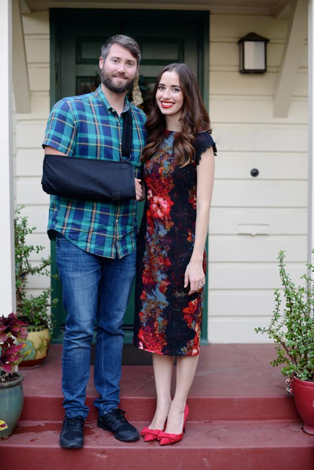 Mara and Matthew on Thanksgiving @marmar