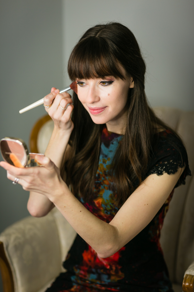 holiday makeup look with dolce and gabbana via M Loves M @marmar