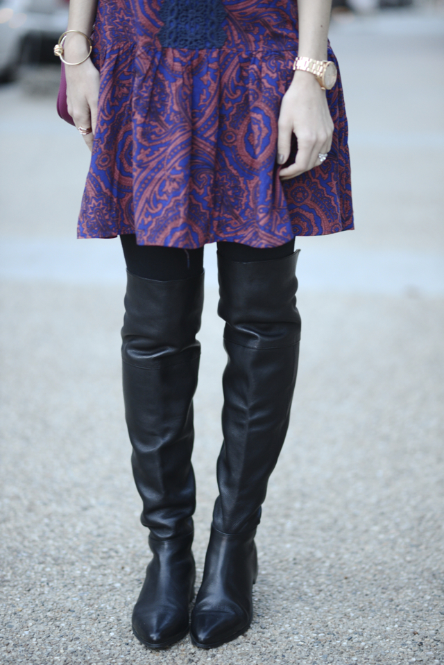 Seychelles Victory over the knee boots M Loves M @Marmar
