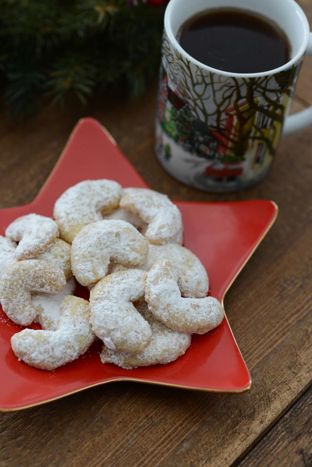 walnut crescent cookie recipe from 1952 @marmar