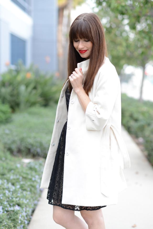 white belted coat on M Loves M @marmar