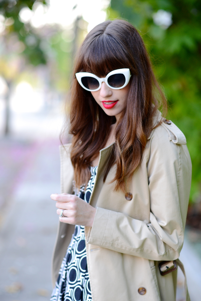 white retro sunglasses from crap eyewear on M Loves M @marmar