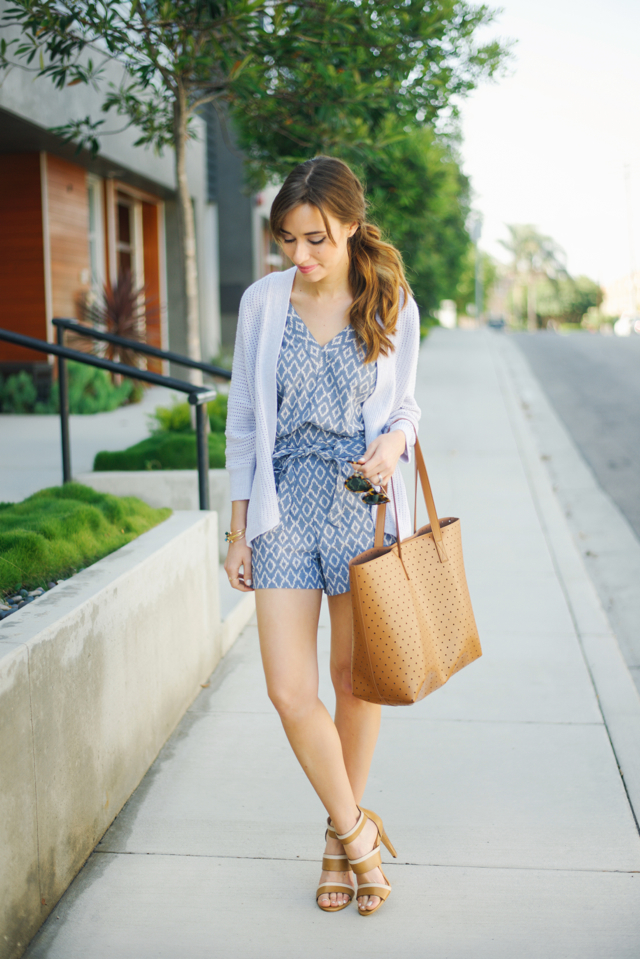 cute and stylish romper outfit for adult women M Loves M @marmar