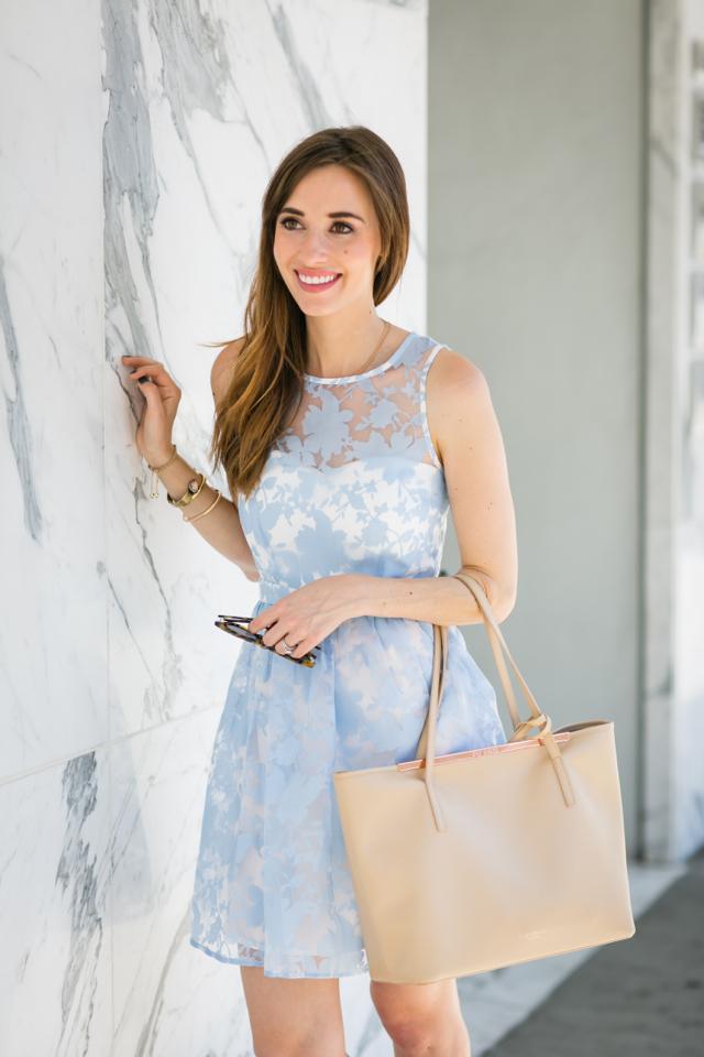 light blue summer dress M Loves M @marmar