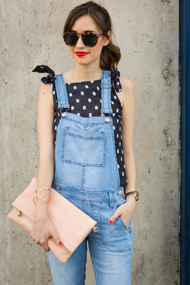 cute way to wear overalls as an adult M Loves M @marmar