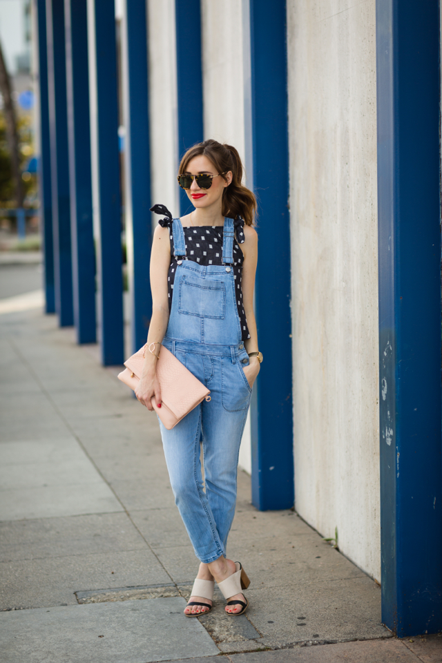 a stylish way to wear overalls as an adult M Loves M @marmar