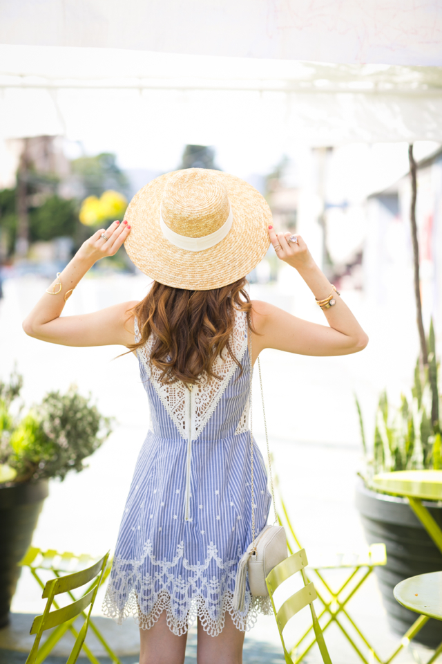 cute summer outfit on M Loves M los angeles blogger @marmar