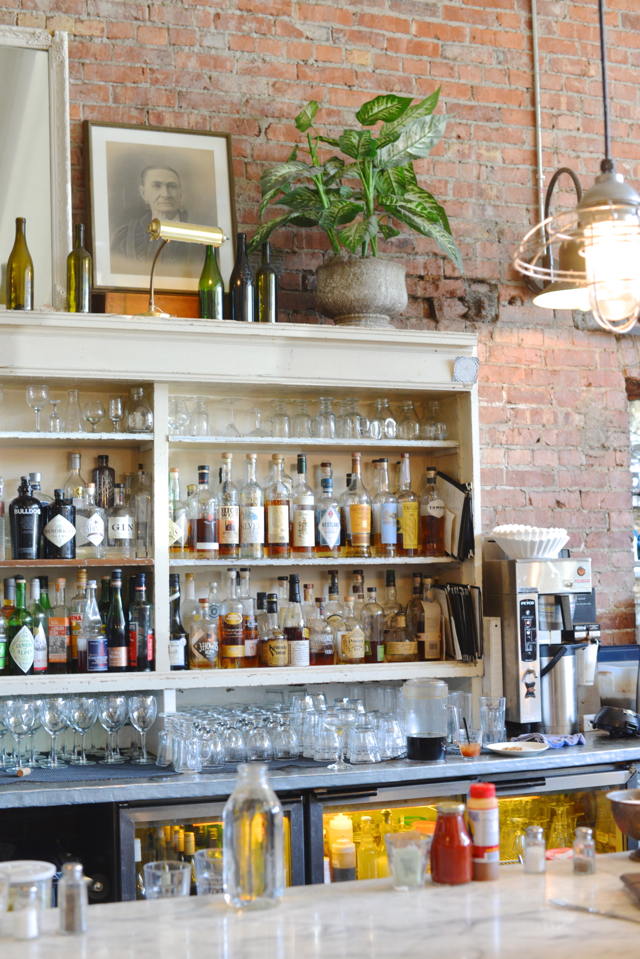 interior of Oddfellows Cafe and Bar in Seattle, Washington M Loves M @marmar