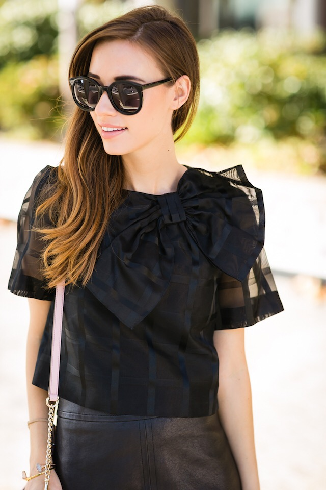 black bow top from kate spade M Loves M @marmar