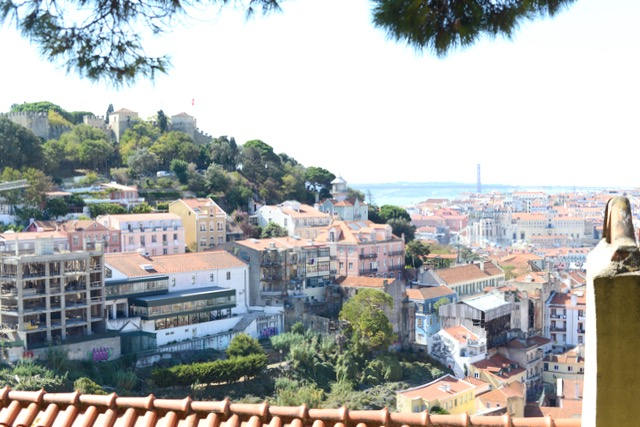 gorgeous views from the top of Lisbon's hills M Loves M @marmar